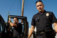END OF WATCH, from left: Michael Pena, Jake Gyllenhaal, 2012. ph: Scott Garfield/©Open Road Films