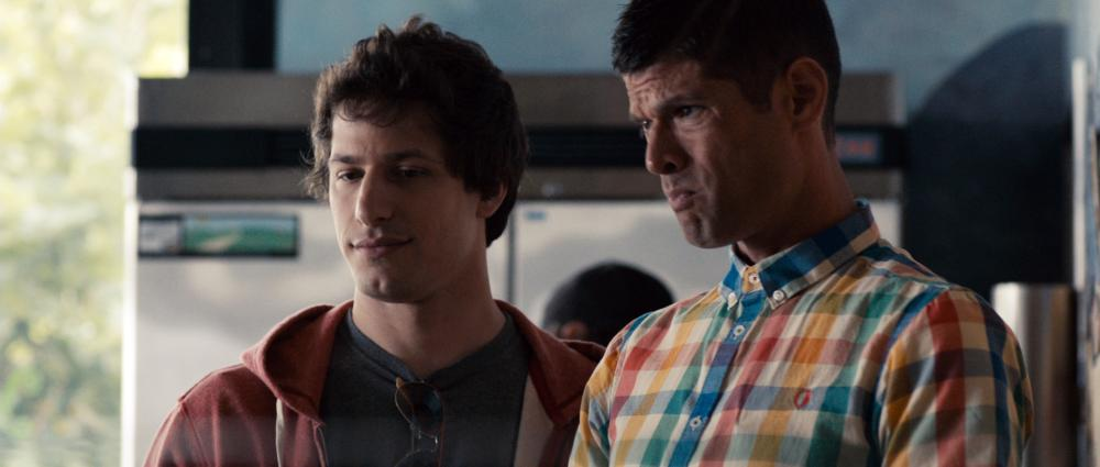 CELESTE AND JESSE FOREVER, from left: Andy Samberg, Will McCormack, 2012, ph: David Lanzenberg/©Sony Pictures Classics