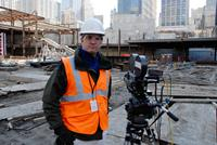 REBIRTH, director James Whitaker, at Ground Zero, 2011. ©Oscilloscope Pictures