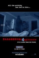 Paranormal Activity 4 Teaser One Sheet