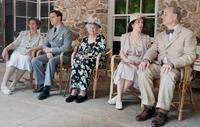 HYDE PARK ON HUDSON, from left: Olivia Williams, as Eleanor Roosevelt, Samuel West, as King George VI, Elizabeth Wilson, Olivia Colman, as Queen Elizabeth, Bill Murray, as Franklin D. Roosevelt, 2012. ph: Nicola Dove/©Focus Features