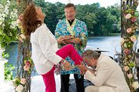 THE BIG WEDDING, from left: Susan Sarandon, Robin Williams, Robert De Niro, 2012. ph: Barry Wetcher/©Lionsgate
