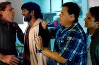 THE BABYMAKERS, from left: Nat Faxon, Jay Chandrasekhar, Kevin Heffernan, Paul Schneider, 2012. ph: Dan McFadden/©Millennium Entertainment