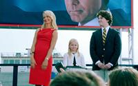 THE CAMPAIGN, l-r: Katherine LaNasa, Madison Wolfe, Randall Cunningham, 2012, ©Warner Bros. Pictures