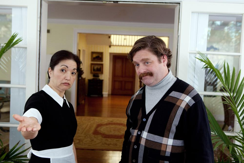 THE CAMPAIGN, l-r: Karen Maruyama, Zach Galifianakis, 2012, ph: Patti Perret/©Warner Bros. Pictures