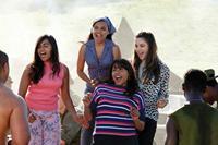 THE SAPPHIRES, from left: Jessica Mauboy, Miranda Tapsell, Deborah Mailman, Shari Sebbens, 2012. Ph: Lisa Tomasetti/©Weinstein Company