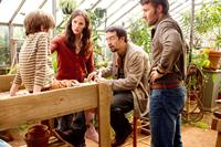 THE ODD LIFE OF TIMOTHY GREEN, from left: CJ Adams, Jennifer Garner, Lin-Manuel Miranda, Joel Edgerton, 2012. ph: Phil Bray/©Walt Disney Pictures