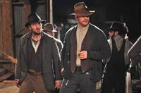 LAWLESS, from left: Jason Clarke, Tom Hardy, 2012. ph: Richard Foreman Jr./©Weinstein Company