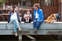 PLAYING FOR KEEPS, (aka PLAYING THE FIELD), from left: Jessica Biel, Noah Lomax, Gerard Butler, 2012, ph: Dale Robinette/©FilmDistrict