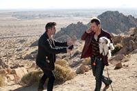 SEVEN PSYCHOPATHS, from left: Colin Farrell, Sam Rockwell, 2012. ph: Chuck Zlotnick/©CBS