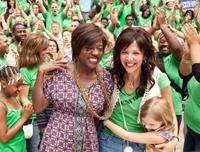 WON'T BACK DOWN, from left: Viola Davis, Maggie Gyllenhaal, Emily Alyn Lind, 2012. ph: Kerry Hayes/TM and Copyright ©20th Century Fox Film Corp. All rights reserved.