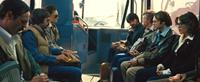 ARGO, from left: Scoot McNairy, Rory Cochrane, Kerry Bishe, Ben Affleck, Tate Donovan, Christopher Denham, Clea DuVall, 2012. ©Warner Bros. Pictures