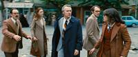 ARGO, from left: Scoot McNairy, Kerry Bishe, Tate Donovan, Christopher Denham, Clea DuVall, 2012. ©Warner Bros. Pictures