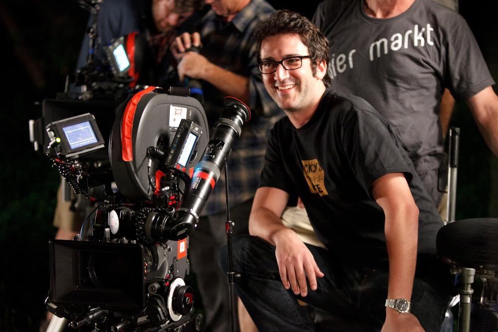FUN SIZE, director Josh Schwartz, on set, 2012. ph: Jamie Trueblood/©Paramount