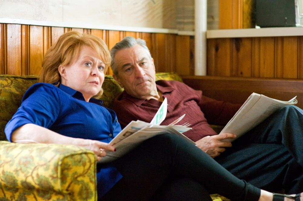 SILVER LININGS PLAYBOOK, from left: Jacki Weaver, Robert De Niro, 2012. ph: JoJo Whilden/©Weinstein Company