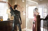 RESIDENT EVIL: RETRIBUTION, l-r: Milla Jovovich, Sienna Guillory, 2012, ph: Brenden-John Bugatti/©Screen Gems
