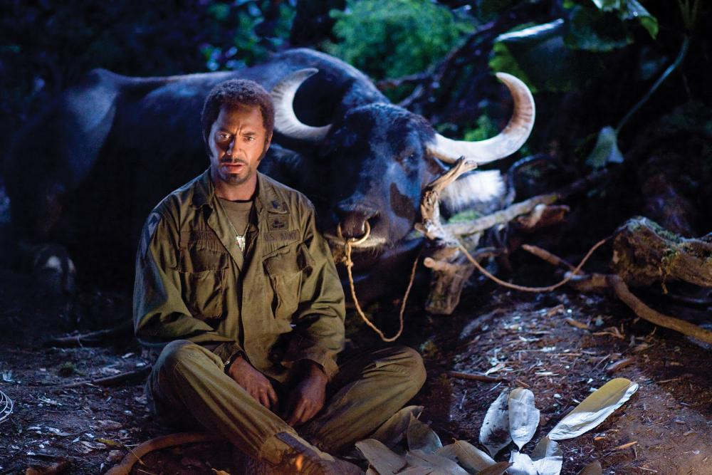 "Robert Downey Jr. in ""Tropic Thunder"""