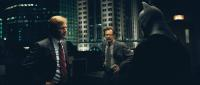 """Aaron Eckhart, Gary Oldman and Christian Bale in """"The Dark Knight"""""""