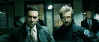 """Nestor Carbonell and Gary Oldman in """"The Dark Knight"""""""