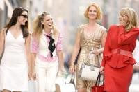 "Kristin Davis, Sarah Jessica Parker, Cynthia Nixon and Kim Cattrall in ""Sex and the City"""