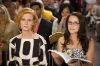 "Cynthia Nixon and Kristin Davis in ""Sex and the City"""