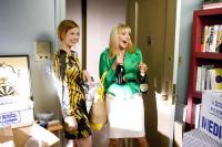 "Cynthia Nixon and Kim Cattrall in ""Sex and the City"""