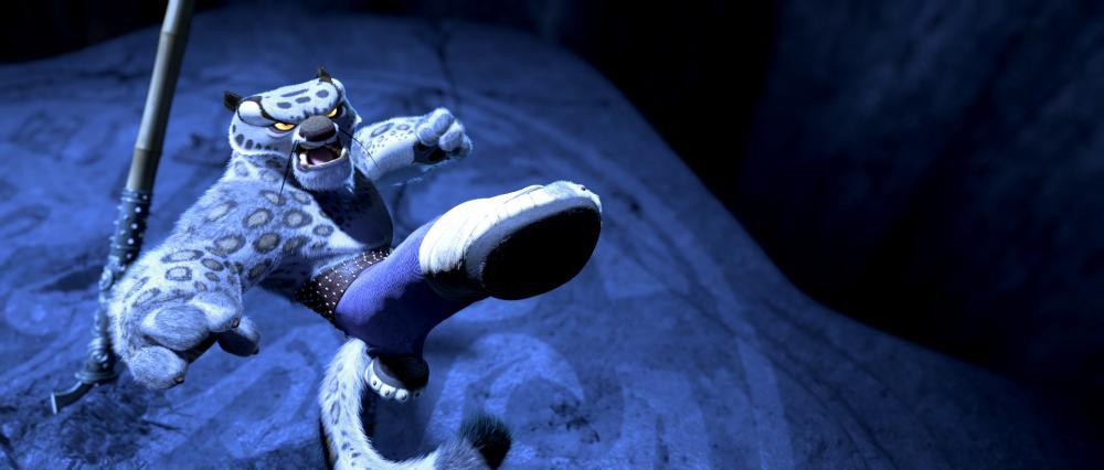 """Tai Lung (Ian McShane) in """"Kung Fu Panda"""""""
