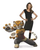 """Angelina Jolie as the voice of Tigress in """"Kung Fu Panda"""""""