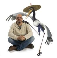 "David Cross as the voice of Crane in ""Kung Fu Panda"""