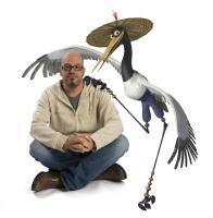 "David Cross as the voice of Crane in ""Kung Fu Panda"""