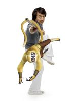 "Jackie Chan as the voice of Master Monkey in ""Kung Fu Panda"""