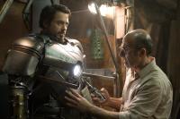 """Robert Downey Jr. and Shaun Toub in """"Iron Man"""""""
