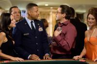 "Terrence Howard, Jon Favreau and Robert Downey Jr. in ""Iron Man"""