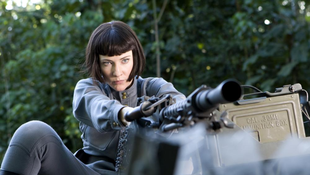 """Cate Blanchett in """"Indiana Jones and the Kingdom of the Crystal Skull"""""""