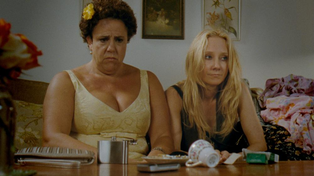 THAT'S WHAT SHE SAID, l-r: Marcia DeBonis, Anne Heche, 2012