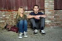 THE FIRST TIME,  l-r: Britt Robertson, Dylan O'Brien, 2012, ©Samuel Goldwyn Films