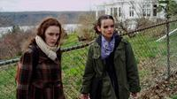 COMING UP ROSES, from left: Rachel Brosnahan, Reyna de Courcy, 2011. ph: Patrick Cecilian/©Dada Films