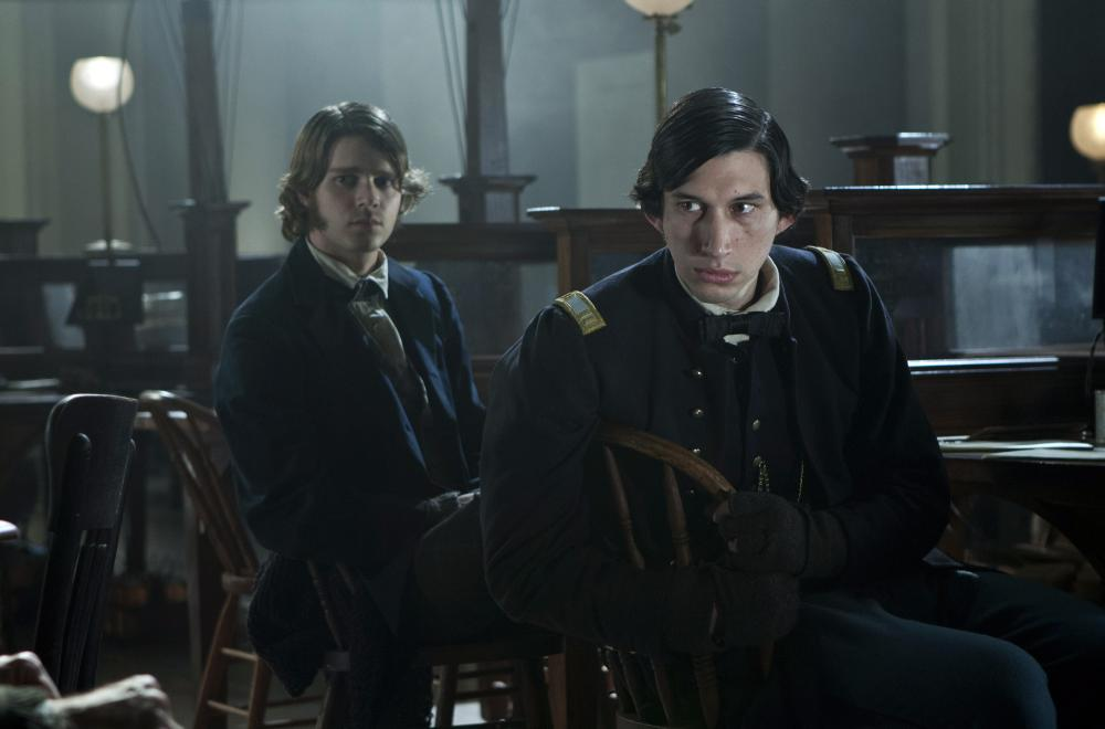 LINCOLN, from left: Drew Sease, Adam Driver, 2012, ph: David James/TM and Copyright ©20th Century Fox Film Corp. All rights reserved.