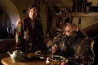 THE HOBBIT: AN UNEXPECTED JOURNEY, from left: Martin Freeman, Graham McTavish, 2012. ph: James Fisher/©Warner Bros. Pictures