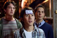 21 AND OVER, from left: Miles Teller, Justin Chon, Skylar Astin, 2013. ph: John Johnson/©Relativity Media