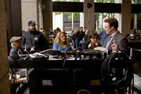 THE GUILT TRIP, director Anne Fletcher (center), Seth Rogen (standing right), on set, 2012. ph: Sam Emerson/©Paramount Pictures