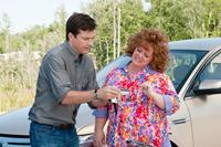 IDENTITY THIEF, from left: Jason Bateman, Melissa McCarthy, 2013. ph: Guy D'Alema/©Universal