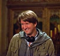LES MISERABLES, director Tom Hooper, on set, 2012. ©Universal Pictures