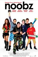 NOOBZ, poster art, from left: Ashley A. Thomas, Blake Freeman, Jason Mewes, Matt Shively, Casper Van Dien, Moises Arias, 2012. ©Big Air Studios