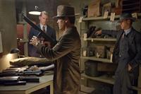 GANGSTER SQUAD, from left: Josh Pence, Josh Brolin, Ryan Gosling, 2013. ph: Wilson Webb/©Warner Bros.