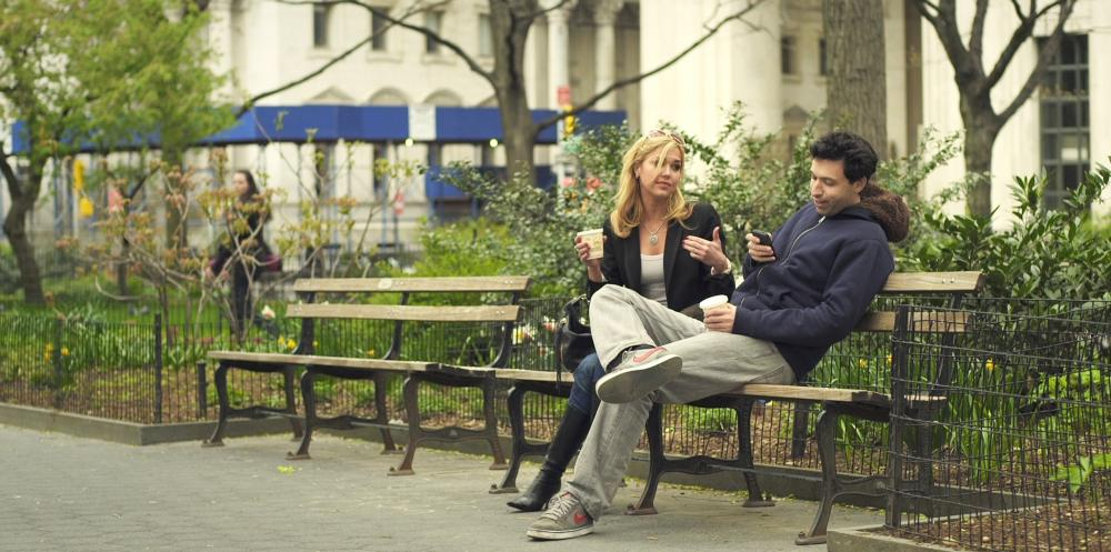 SUPPORTING CHARACTERS, from left: Arielle Kebbel, Alex Karpovsky, 2012. ©Tribeca Film