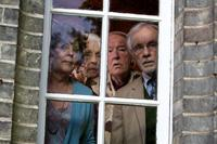 QUARTET, l-r: Pauline Collins, Patricia Loveland, Michael Gambon, Andrew Sachs, 2012, ph: Kerry Brown/©Weinstein Company