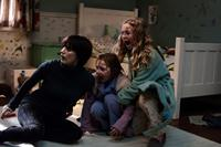 MAMA, from left: Jessica Chastain, Isabelle Nelisse, Megan Charpentier, 2013. ph: George Kraychyk/©Universal Pictures