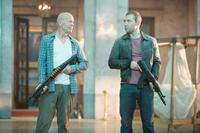 A GOOD DAY TO DIE HARD, from left: Bruce Willis, Jai Courtney, 2013. ph: Frank Masi/TM & copyright ©20th Century Fox Film Corp. All rights reserved