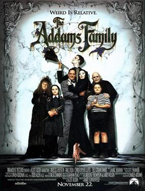 The Addams Family - A Family Favourites Presentation